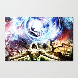 I am a Son of Earth and Starry Heaven Canvas Print