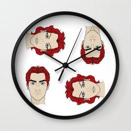 Duplicity Wall Clock