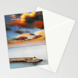 Spain Oropesa del Mar Port Cape Stationery Cards