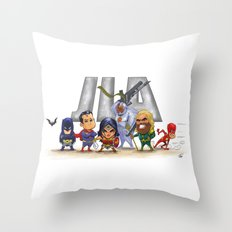 JLA Throw Pillow