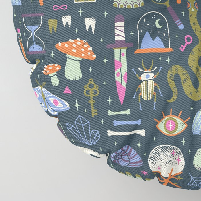 Curiosities Floor Pillow