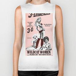 Wildcat Woman Biker Tank