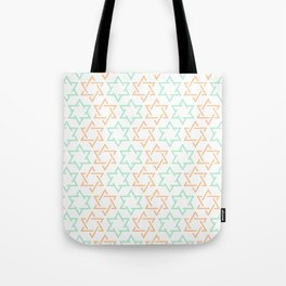 Star Of David Pattern  #society6 #decor #buyart #artprint Tote Bag