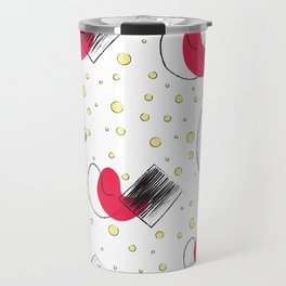 Funky Pattern Travel Mug