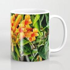 Spectacular orange trumpet flower Mug
