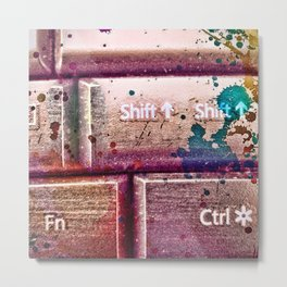 art and technology Metal Print