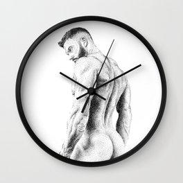 Kevin 2 - Nood Dood Wall Clock