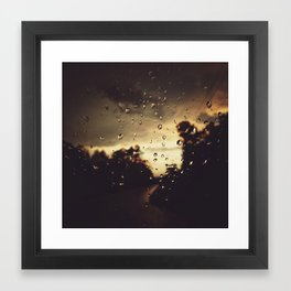Storm Clouds Framed Art Print