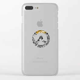 All Heroes Logo Clear iPhone Case