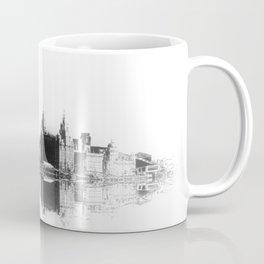 Liverpool Waterfront Skyline (Digital Art) Coffee Mug