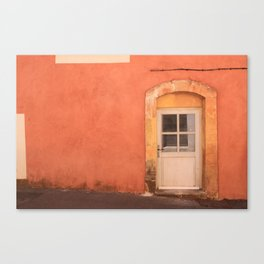Door of Roussillon Canvas Print