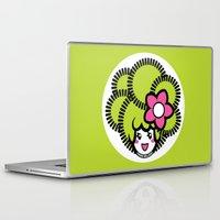pagan Laptop & iPad Skins featuring Pagan Lime by Pagan Holladay