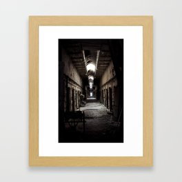 hallowed. Framed Art Print