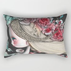 Flower Wind Rectangular Pillow