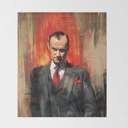 Mycroft Holmes Throw Blanket