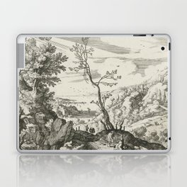 Landscape With Judah And Tamar Willem van Nieulandt II Laptop & iPad Skin