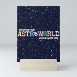 ASTROWORLD TRAVIS SCOT Mini Art Print