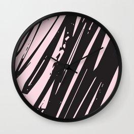 I spilled my chocolate! /geometric series Wall Clock