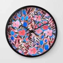 Nonchalant Vibrant Wall Clock
