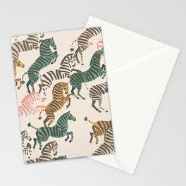 Zebra Stampede Stationery Cards