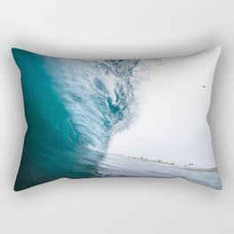 Beautiful Wave Crash Rectangular Pillow
