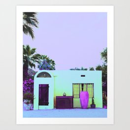 Getaway House Art Print