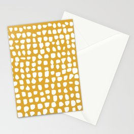 Dots / Mustard Stationery Cards