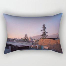 Arequipa Peru Sunset Rectangular Pillow