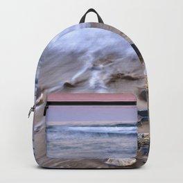 Sea Waves. Mediterranean Summer Backpack