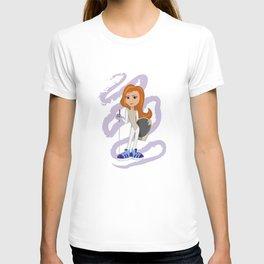 Fencer. Girl T-shirt