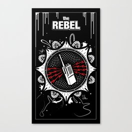 The Rebel - Tall Canvas Print