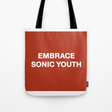 Embrace Sonic Youth Tote Bag