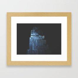 Selenite Framed Art Print