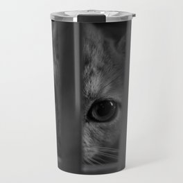 Who Lurks Under The Table? Travel Mug