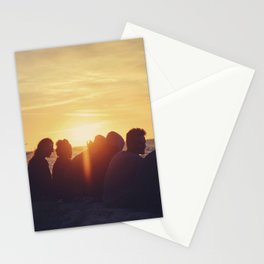 Sunset at the Baltic Sea Stationery Cards