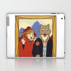 Red Gothic Laptop & iPad Skin