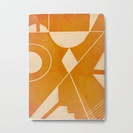 Abstract line art 32 Metal Print