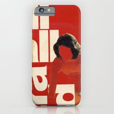 Red in the face iPhone 6 Slim Case