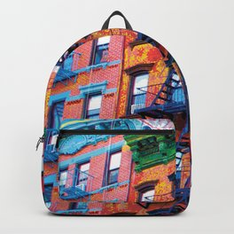 New York Facades Backpack