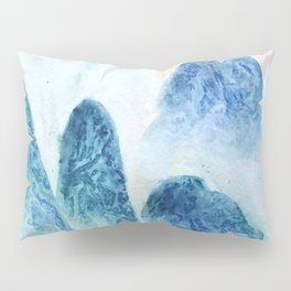 dawn in the mountain forest Pillow Sham