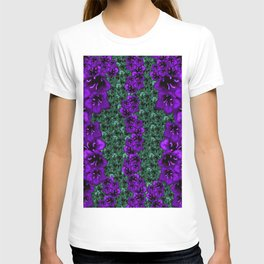 life in jungle so beautiful filled of ornate flowers T-shirt