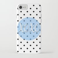 xoxo iPhone & iPod Cases featuring XOXO by Pati Designs