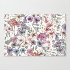 Magical Floral  Canvas Print