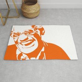 Ray Charles – Orange Rug