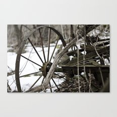 Broken Wheel Canvas Print