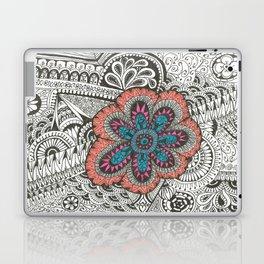Flower-tangle Laptop & iPad Skin