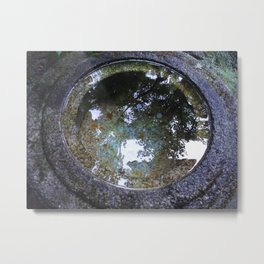 The circle of stillness Metal Print