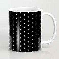 lightning bold pattern black Mug