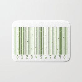 Bamboo Barcode Bath Mat