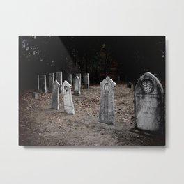 Green Cemetery-1 Metal Print